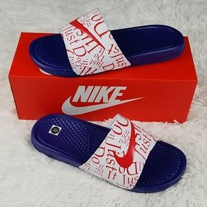 Nike Womens Benassi JDI Print Slide Sandals